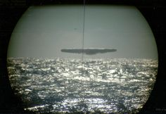 For somebody who has never seen a UFO (Unidentified Flying Object), it can be hard to imagine what they look like. See the 7 pictures of actual UFO sightings. Aliens And Ufos, Ancient Aliens, Ancient Art, Unidentified Flying Object, Close Encounters, Alien Encounters, Flying Saucer, Crop Circles, Hale Navy
