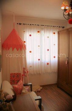 ideas for diy decoracion habitacion ropa Girl Curtains, Diy Home Decor, Room Decor, Little Girl Rooms, Room Girls, Baby Decor, Interior Design Living Room, Kids Bedroom, Bohemian Kids