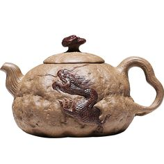 Authentic Yixing Purple Clay Handmade Natural Look Teapot Cuba, Yixing Teapot, Natural Looks, Tea Time, Stoneware, Tea Pots, Porcelain, Chinese, Posters