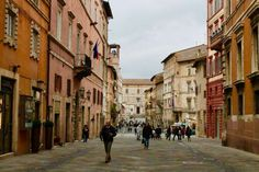 Perugia, Italy aka home of the best chocolate in the world Perugia Italy, Italy House, Street View, Chocolate, World, Bucket, Travel, Boys, Happy