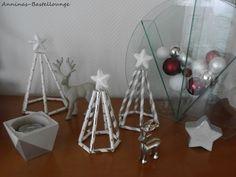 Himmeli trifft Beton in weiß und silber Geschenkidee Facebook Sign Up, Silver, Christmas, Presents