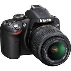 Câmera Digital Nikon DSLR D3200 24.2 Megapixels com Lente 18-55mm VR - Nikon com o melhor preço é no Walmart!