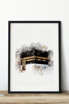 Art Discover Hajj Mabrur Umrah Mubarak Kaaba Mecca Mekkah Mecca Kobe Kabe Optional with personalization Umrah Mubarak, Mecca Wallpaper, Islamic Wallpaper, Arabic Calligraphy Art, Arabic Art, Calligraphy Alphabet, Islamic Posters, Islamic Art Pattern, Islamic Paintings