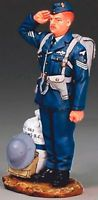 KING & COUNTRY FIELDS OF BATTLE FOB052 ROYAL AIR FORCE RAF SERGEANT MIB