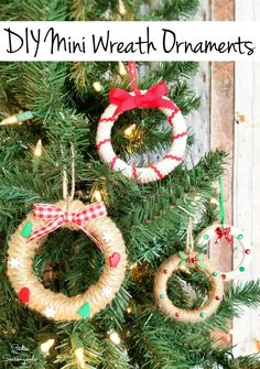 Mason jar lids are seriously PERFECT for upcycling into mini Christmas wreaths, which are the cutest Christmas craft and so easy to make. Grab a group of gal pals for a festive Crafternoon or even make these handmade ornaments with your kids or grands. #diychristmasornaments #masonjarcrafts #xmasornaments #christmascraftideas #ornaments #christmasdiycrafts #handmadeornaments #rusticchristmas #farmhousechristmas #countrychristmas Modern Christmas Ornaments, Christmas Craft Projects, Easy Christmas Crafts, Simple Christmas, Christmas Tree Decorations, Christmas Wreaths, Holiday Decor, Handmade Ornaments, Handmade Christmas