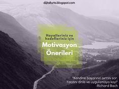 Hedeflerinize ulaşmak için 10 motivasyon önerisi
