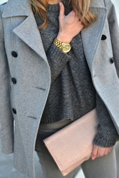 Love the Layers and Gray Color