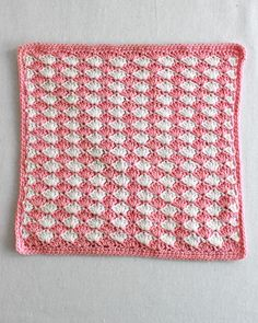 Shell Crochet Stitch Pattern & Video:Change Color Every Row Pattern by Maggie Weldon