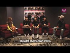 DFLA X B.A.P Interview. I've watched this 5x now. I'm sure I'll watch it much more. BYG's personal choice. b(^_^)d. Chris Brown x Drake thing had me rollin'. lol