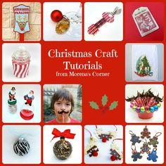 Christmas Crafts PLUS easy Snow Globe Tutorial   Morena's Corner