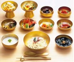 Heian era dishes, and recipe for Heian sno-cones!