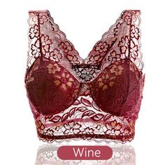Women Sexy Lace Embroidered Seamless Bra No Rims Sleeping Vest Bras