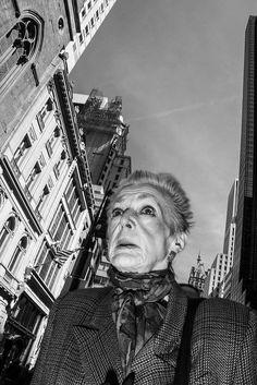 NYC PEOPLE 112 Bruce Gilden inspired work.
