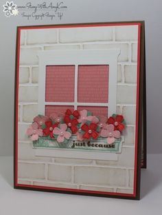 Happy Home Window Box Card