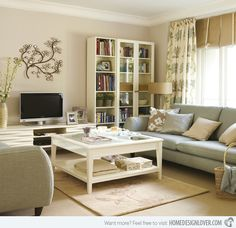 15 Pretty Living Room Decors