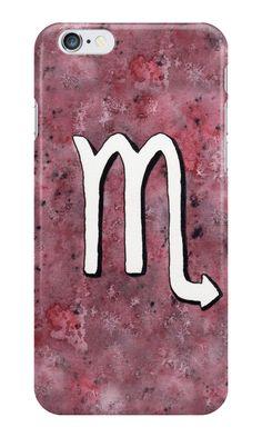 """Zodiac sign : Scorpio"" iPhone Cases"