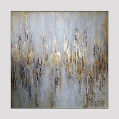 Handgeschilderde Fantasie Vierkant,Modern Eén paneel Hang-geschilderd olieverfschilderij For Huisdecoratie