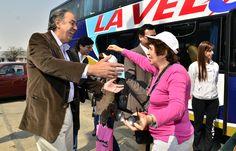 """Acompañé a los afiliados al IPS en su arribo tras el viaje a Misiones, a través del programa """"Turismo Social"""""""
