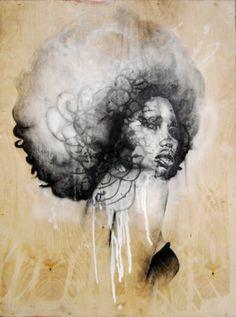 """Saatchi Online Artist Jeremy Bell; Mixed Media, """"Scent of a Divne Diva"""" #art"""