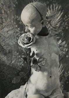 beautifulbizarremag:  'Die Puppe' by Hans Bellmer in 1934