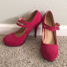 Pink high heels Wild diva high heels. In good condition only worn once Wild Diva Shoes Heels