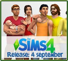 De Sims 4 informatiepagina