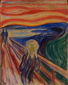 The Scream 1910? The Scream is undoubtedly Munch's most famous motif. It  belongs to a series of motifs that Munch developed in Berlin and  Åsgårdsstrand in ...
