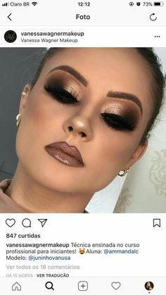 Outstanding Cute makeup tips are offered on our internet site. Classy Makeup, Fancy Makeup, Sexy Makeup, Glam Makeup, Makeup Inspo, Bridal Makeup, Wedding Makeup, Makeup Inspiration, Hair Makeup