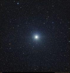 Sirius is the brightest star in the night sky. It shines in the constellation of Canis Major and is visible from most everywhere in the Northern Hemisphere during the winter months.  Photographer: Greg Parker