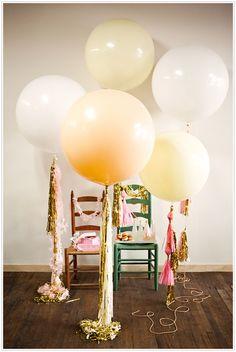 geronimo!, balloons, metallic, pink, yellow, tassels, #camillestyles