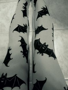 Witch Baby bat tights.