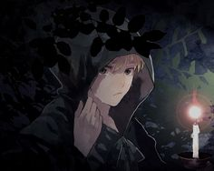 Lost Forest by なぱ - England in the Woods performing black magic - Hetalia
