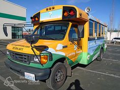 New bus graphics for Learning Avenues Child Care Centers in Vancouver, Wa.