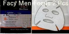New Facy Silicium Plus C Brightening Tissue Mark Best For Man Size 21 g 2 Pcs #Facy