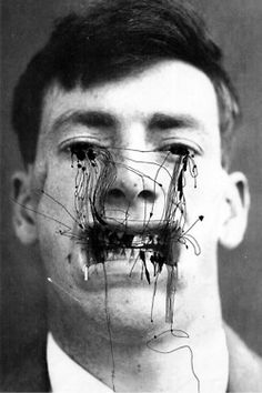 """alecshao: """" Ashkan Honarvar - Faces, 2009 - pen on photograph """"Beauty comes in all shapes and sizes. It occurs in places you least expect, revealing its art in the human body, but also cruelly absent. Mode Collage, Collage Art, Photography Projects, Art Photography, Arte Obscura, Photoshop, Illustration Mode, Photocollage, Art Textile"""