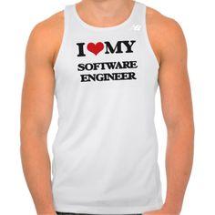 I love my Software Engineer Tshirts Tank Tops