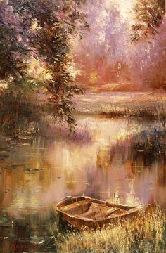 Alexey Rychkov Алексея Рычкова 1968 | pictor impresionist rus