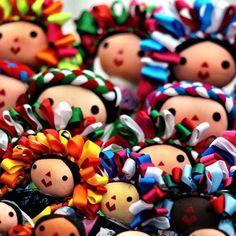 Fotos de la semana: Juguetes tradicionales de México. Muñecas Juanitas | México Desconocido