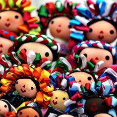 Fotos de la semana: Juguetes tradicionales de México. Muñecas Juanitas | México…