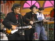 """BR5-49 - Chris Mead & Marty Stuart - """"Daddy's Drinking Up Our Christmas"""" -- oh, no, hope he's not in jail again"""