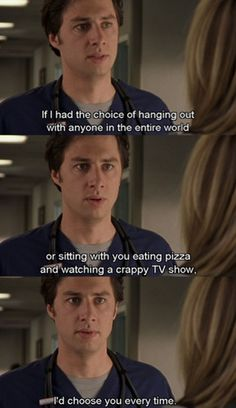 One of my favourite scenes in Scrubs.