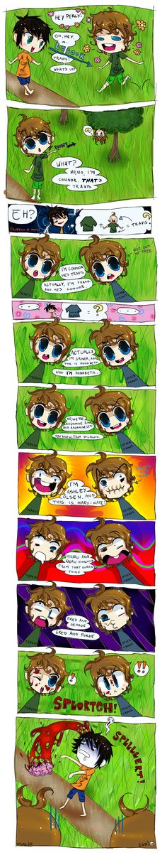 Percy Jackson and the Stoll Brothers of Doom by Alligates.deviantart.com on @deviantART