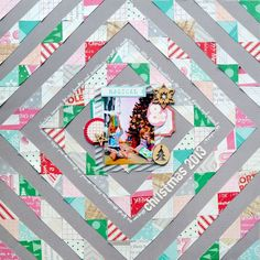 Celebrate December layout by Paige Evans using Elle's Studio Good Cheer collection