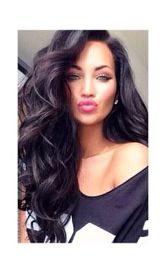 Big Wave Long Hair 2015 Trending Style Full Lace Human Hair Wig - Full Lace Wigs - EvaWigs