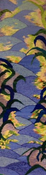 Joan Griffin's The Garden Path tapestry