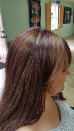 Some beautiful fall color's done by Salon C