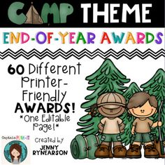 This pack contains 60 different awards to present to students! (UPDATED for 2016-2017 School Year!) I like to present an award to each of my students the last day of school.