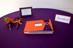 Made our wedding guestbook/scrapbook, Jan 2012