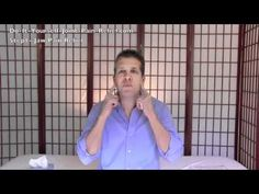 relieve neck pain and migraines - Jaw Joint Pain Relief - Step 1