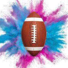 Our Gender Reveal Football is 6 Inches and explodes in vibrant pink or blue powder. Perfect to throw or punt, our exploding football will reveal with surprise and shock. Gender Reveal Football, Gender Reveal Themes, Football Themes, Baby Gender Reveal Party, College Football Coaches, Shock And Awe, Reveal Parties, Future Baby, 6 Inches
